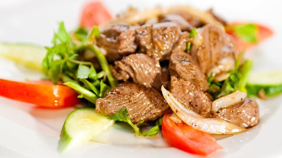 Cambodia - Beef Lok Lak