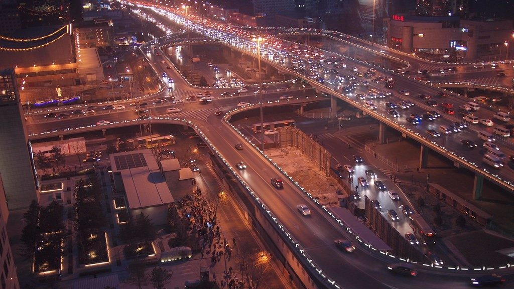 Beijing, China Traffic