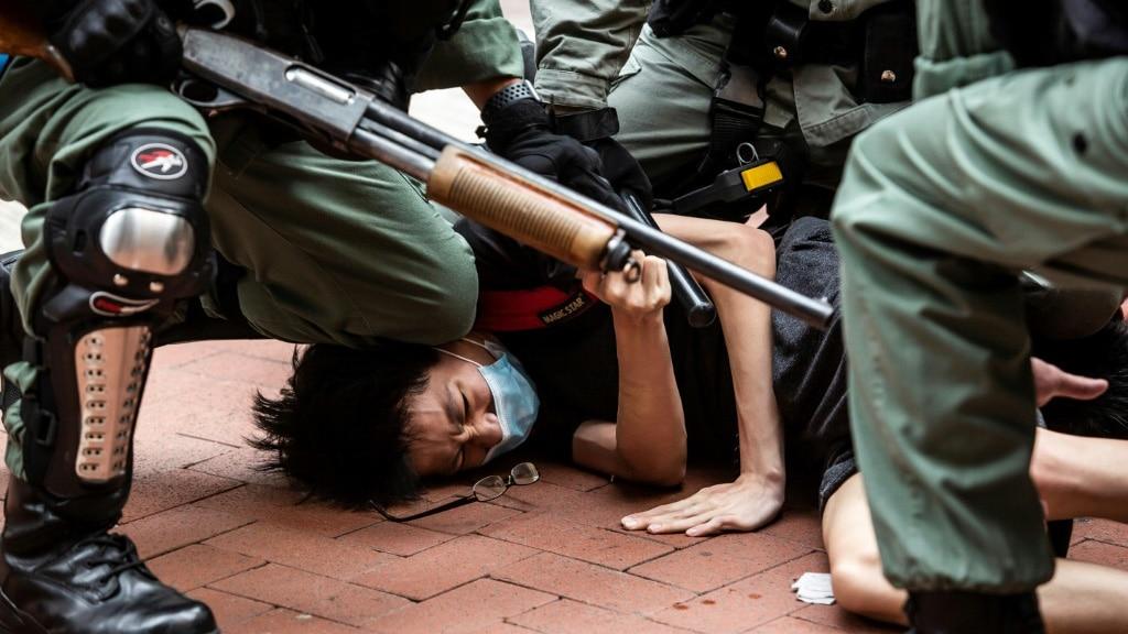 Beijing Tightens Control Over Hong Kong.afp
