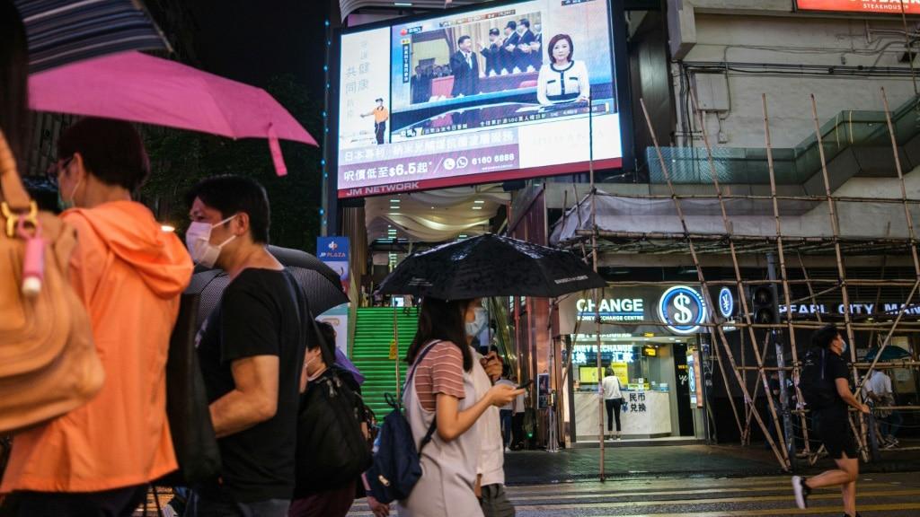 Beijing Wants New Security Legislation Passed in Hong Kong.afp