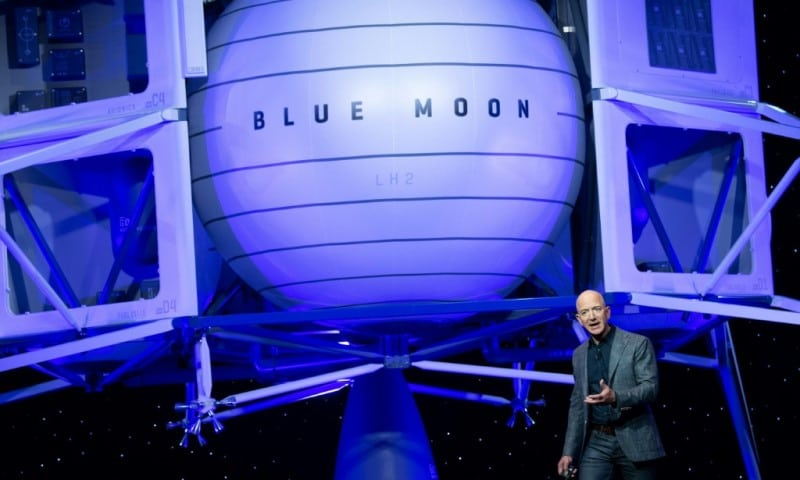 Bezos-founded Space Company Blue Origin