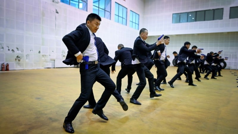 Bodyguard School in Tianjin China