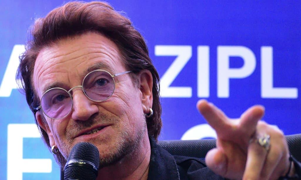 Bono U2 Philippines Concert ©AFP