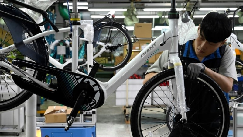 Boom Time for Taiwan's Bike Manufacturer.afp