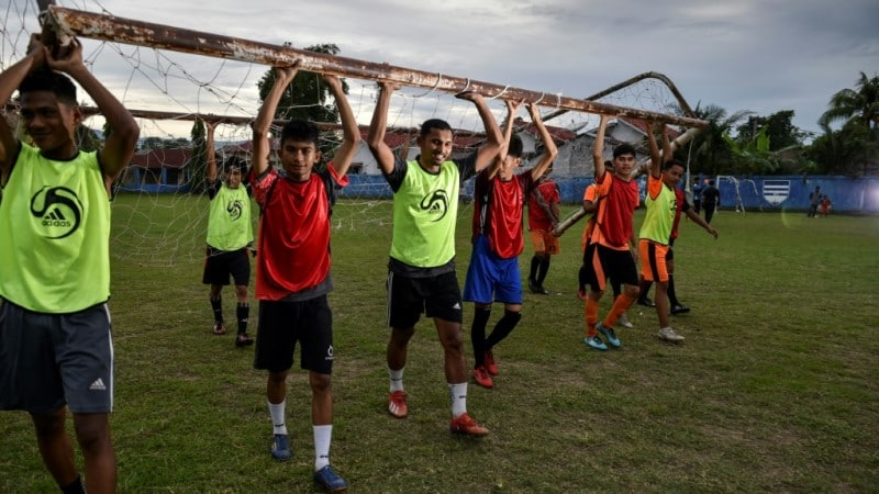 Borneo FC Continued Training