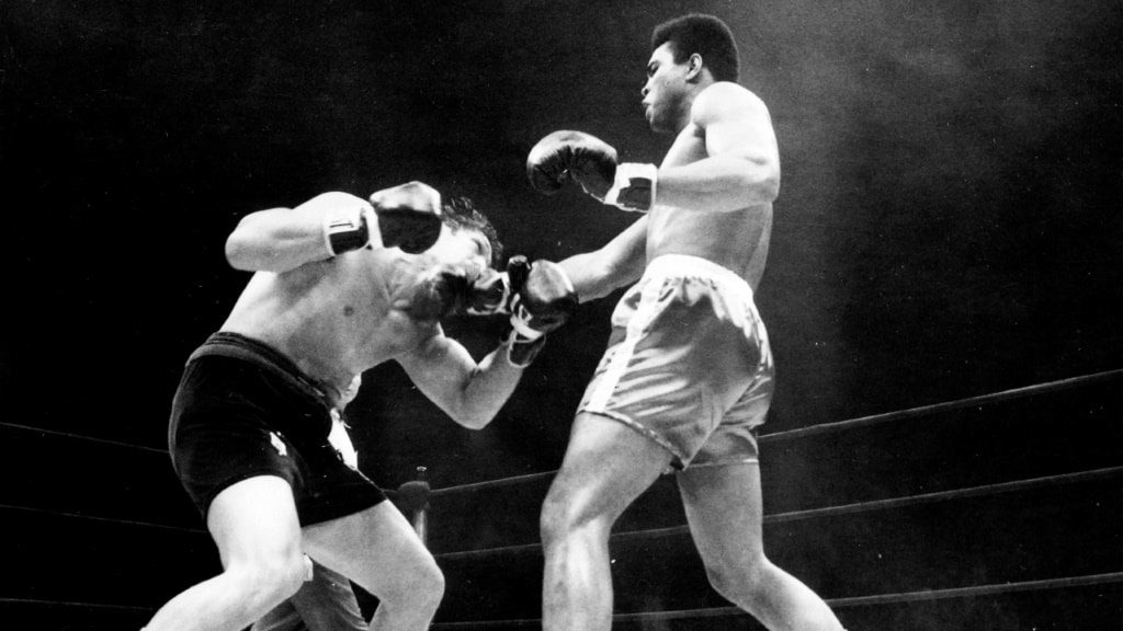 Boxing Match Muhammad Ali.afp