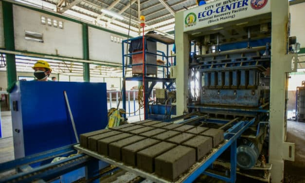 Philippines Turn Problems into Solutions: Make Volcano's Ash and Plastic Waste Into Bricks