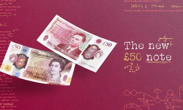 UK Unveils £50 Banknote in Honor of Gay Computing Pioneer