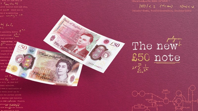 Britain's New £50 Banknote