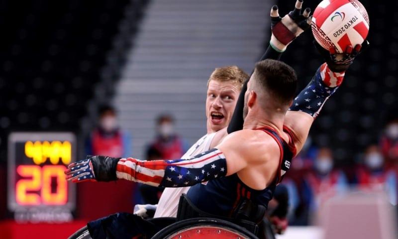 Britain's Wheelchair Rugby Team