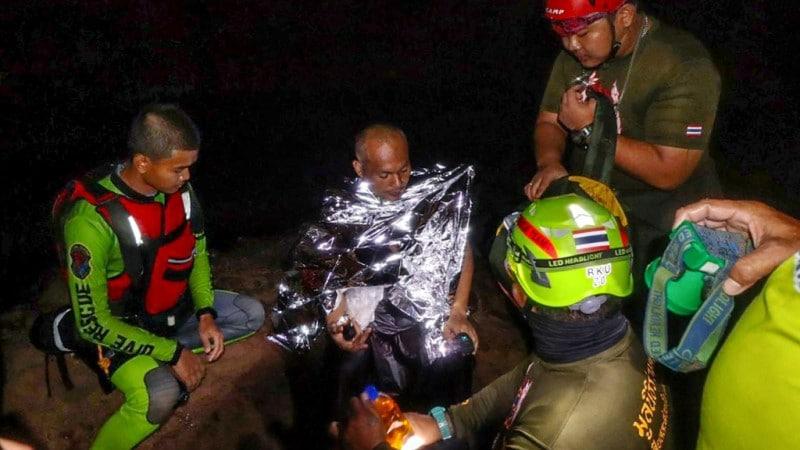 Buddhist Monk Rescued