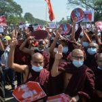 Myanmar Junta Cuts Internet as Troops Fire to Break up Protest
