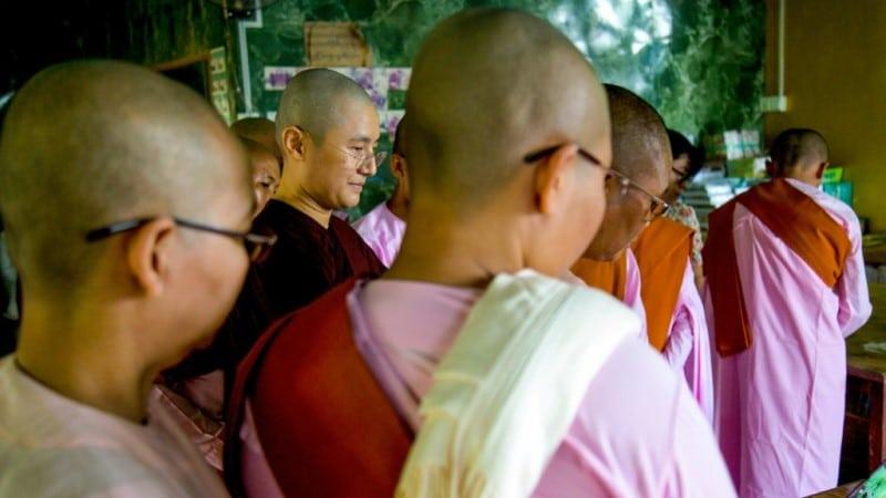 Buddhist Nun's of Myanmar