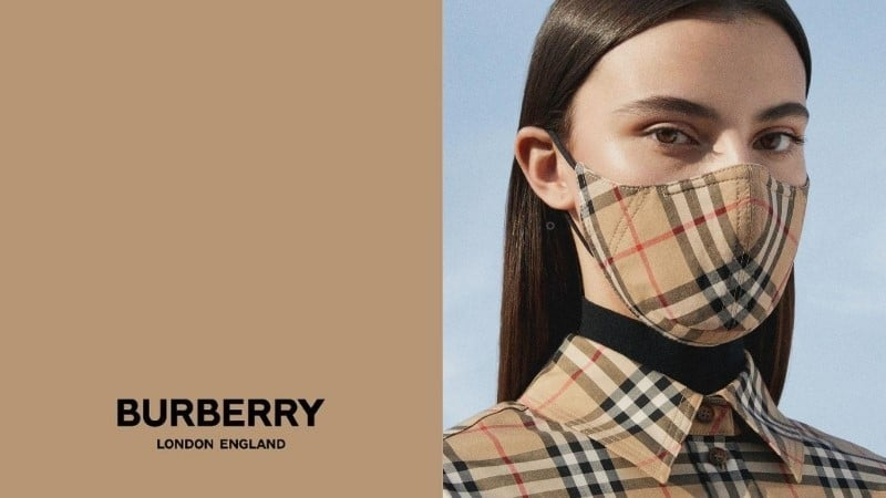 Burberry Mask Banner