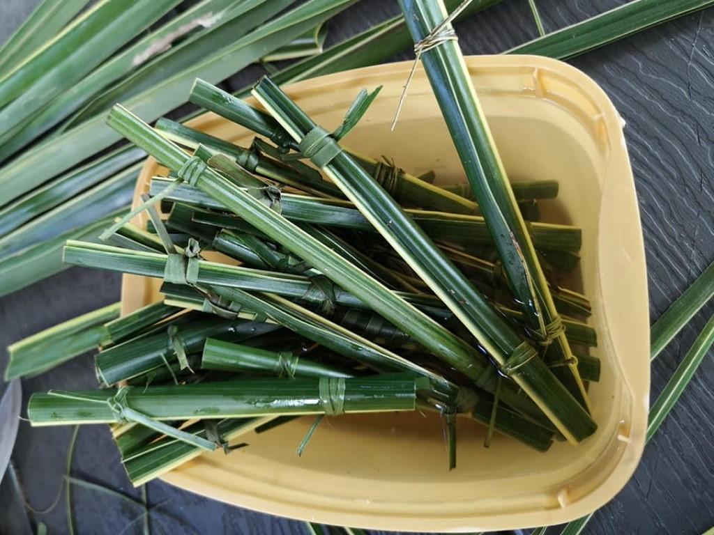 Cafe Editha - Coconut leaves Straws