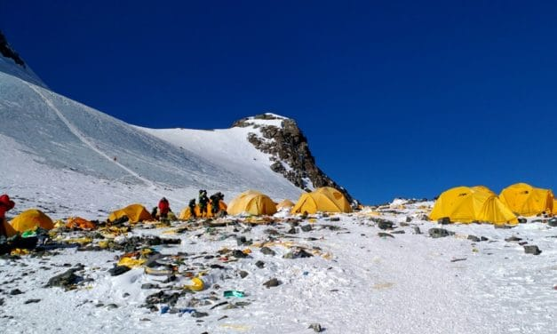 Ten Tons of Trash Removed from Mount Everest