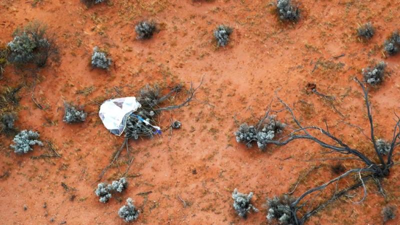 Capsule Landed in Australia