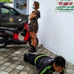 Foreigners Without Face Masks Punished with Push-Ups in Bali