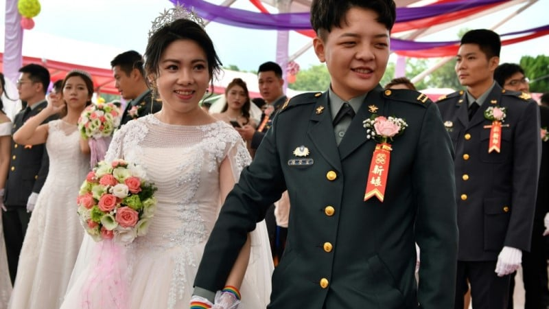 Chen Ying-hsuan and Li Li-chen