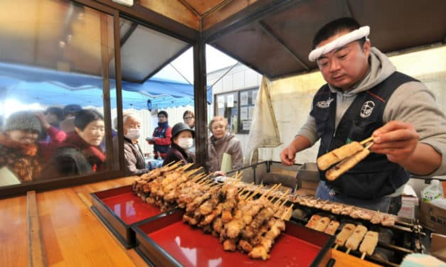 Japanese Yakitori Chicken Is Now Approved for Space Mission