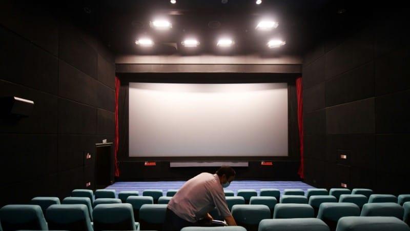 China Cinemas Reopened