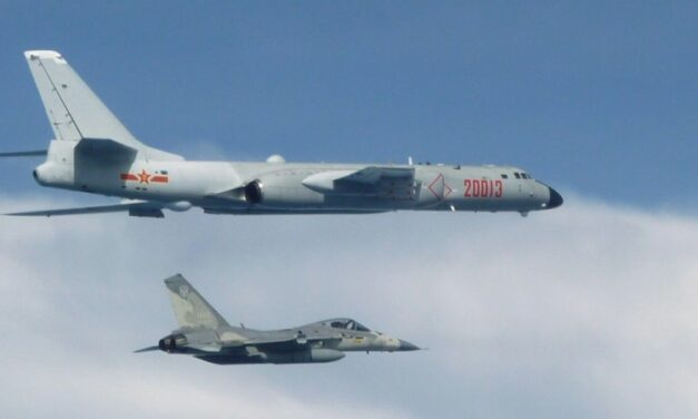 Record 38 Chinese Jets Enter Taiwan Defense Zone on National Day