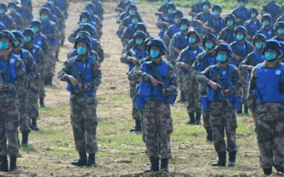 China Hosts First Multinational Peacekeeping Exercise