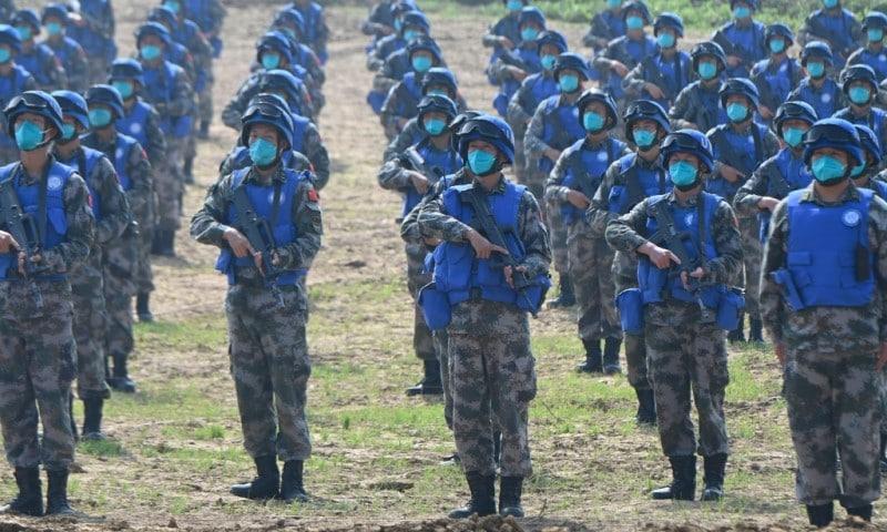 China Peacekeeping Exercise