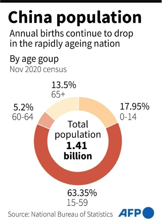 China Population Age Composition