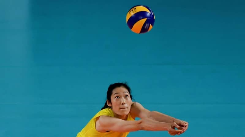 China Sports Star Zhu Ting.afp