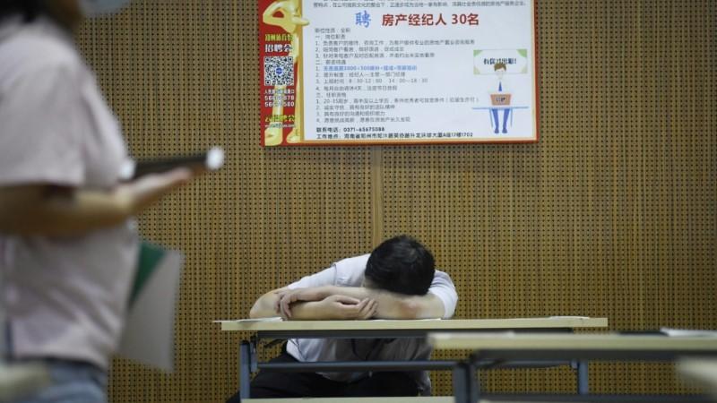 China Tough Employment