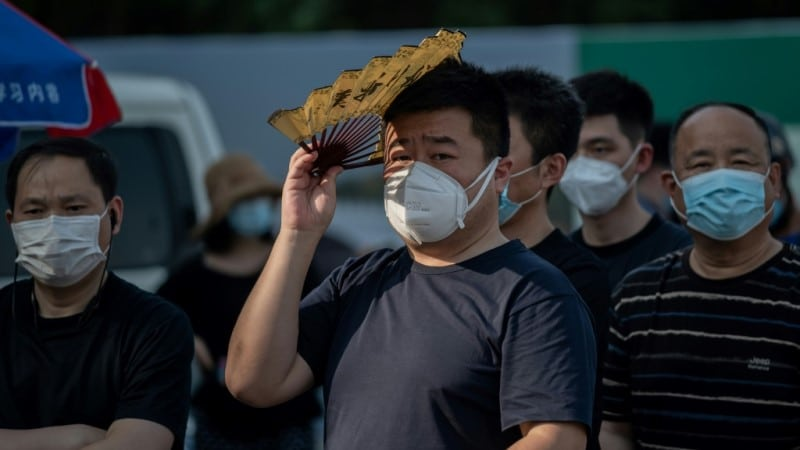 China Where the Disease First Emerged Last Year.afp