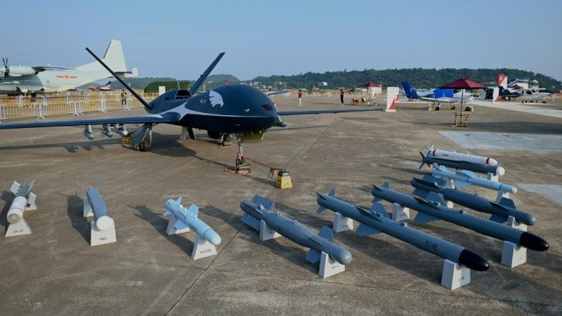 China showcased its new air power