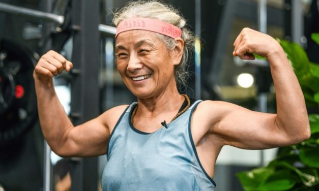 'Hardcore Grandma' Aging Fitness Buff Becomes TikTok Sensation