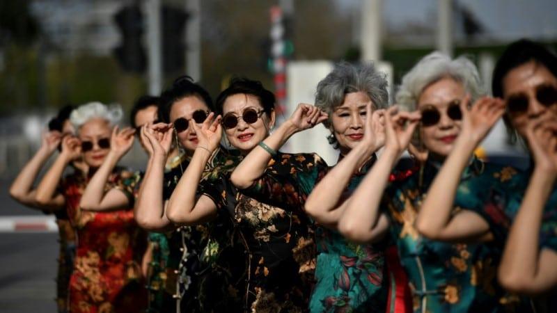 China's Fashionable Seniors