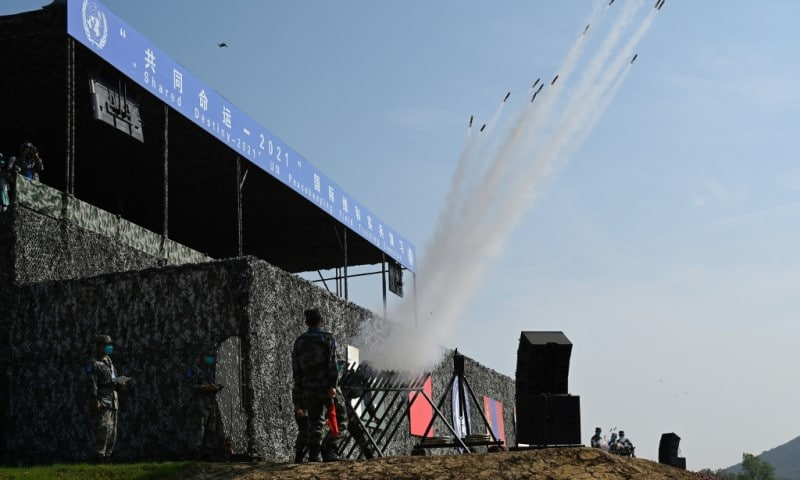 China's First Multinational Peacekeeping Exercise