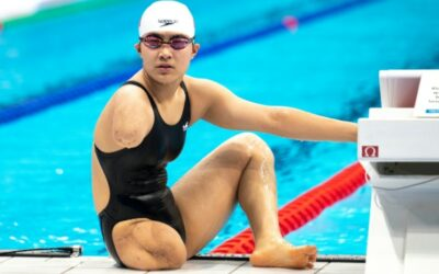 From Dump Truck Disaster to Paralympics Gold: China's 'Flying Fish'