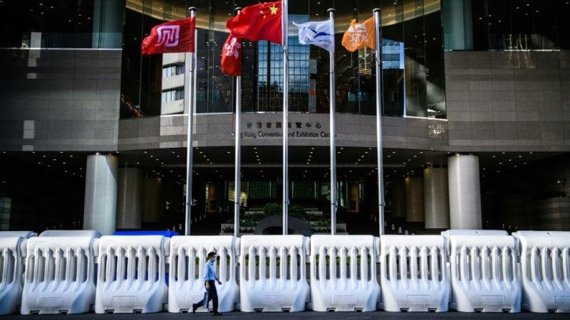 China's New Legislation in Hong Kong.afp