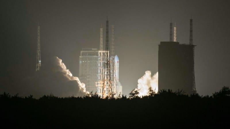 China's Rocket Launch