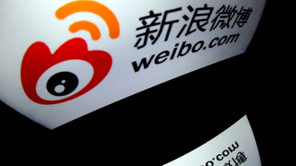 China's Twitter Like Platform Weibo.afp