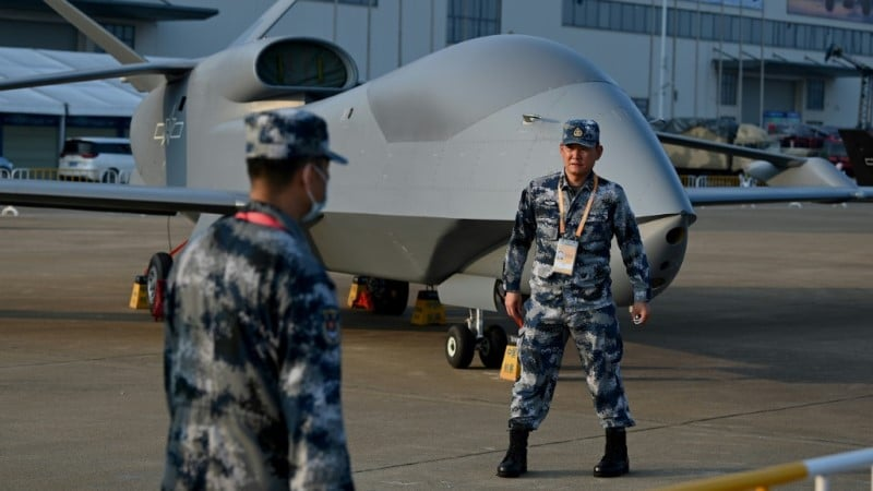 China's WZ-7 high-altitude drone