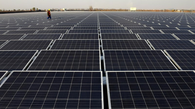 China's Wind and Solar Power