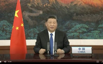 Xi Defends China's Virus Response, Offers Vaccine When Ready