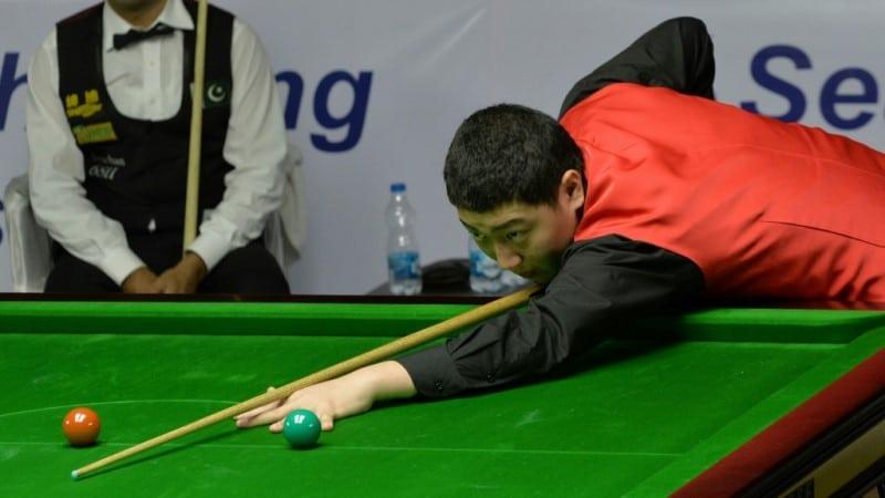 China's Yan Bingtao