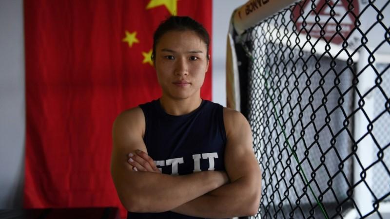 China's Zhang Weili