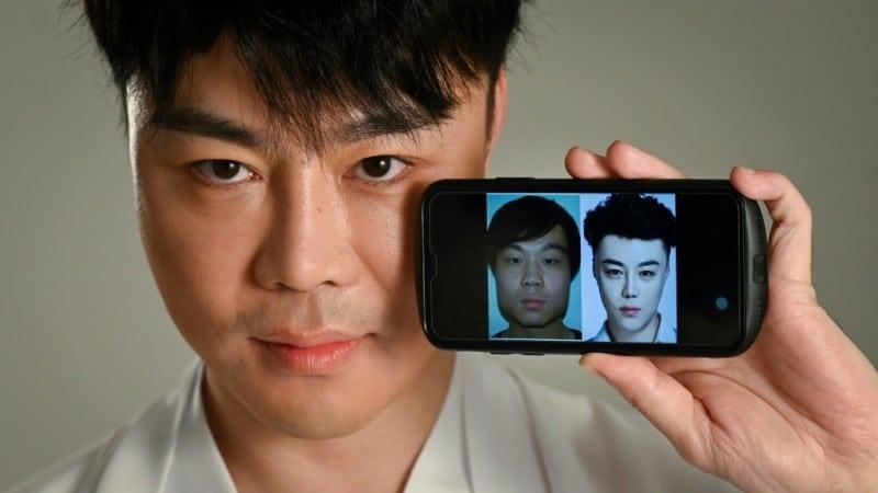 Chinese Actor and Model Nai Wen