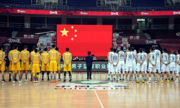 Basketball Restarts in China After Five-Month Shutdown