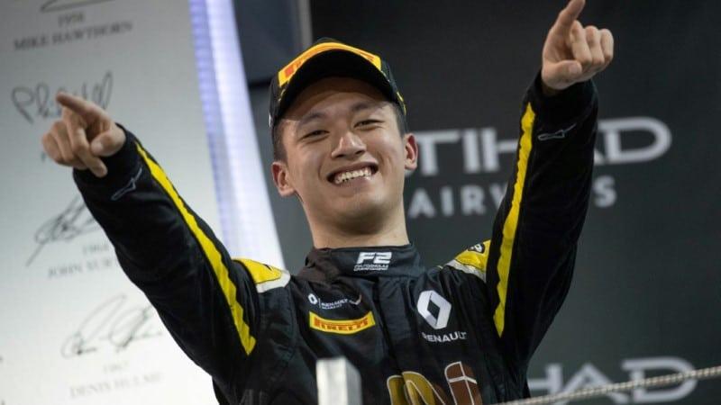 Chinese Driver Zhou Guanyu