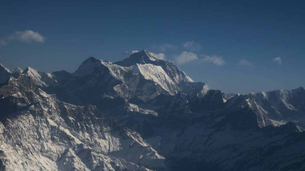 Chinese Expedition in Mount Everest .afp