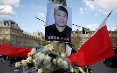 French Court Dismisses Case Against Policeman over Death of Chinese Man
